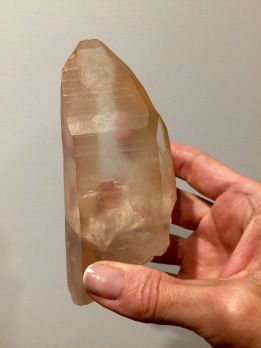 Lemurian Lithium Crystal from Brazil