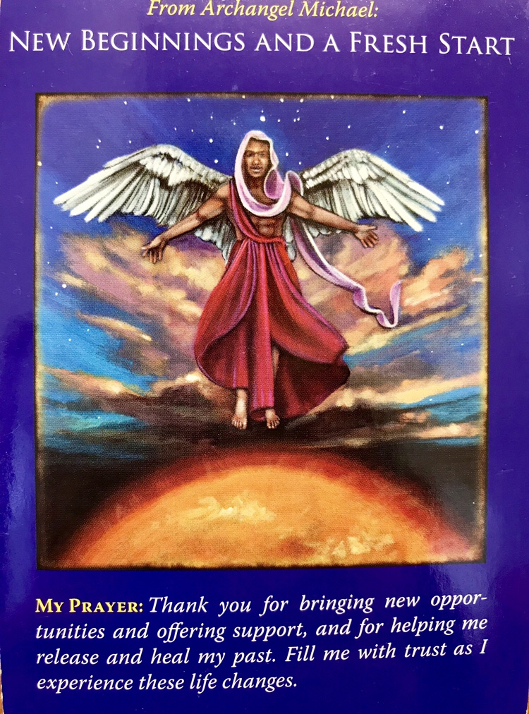 Wednesday's Angel Card Reading New Beginnings and a Fresh